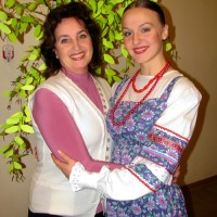 С любимой ученицей Катюшей Ельшиной. 18.12.2010г.