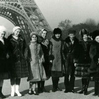 """""""Воронежские девчата"""" Париж 1972г."""