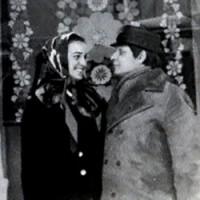 С Эдуардом Хилем, Швеция, 1973г.